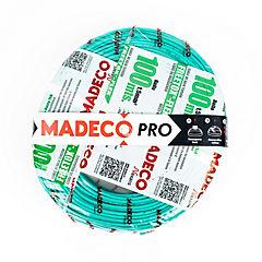 Cable eléctrico libre de halógenos 1,5 mm2 100 m Verde