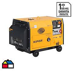 Generador diesel trifásico insonorizado 10,5kW