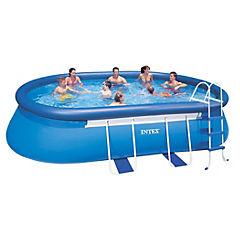 Set piscina 5,49x3,05x1,07 m 10920 l Azul