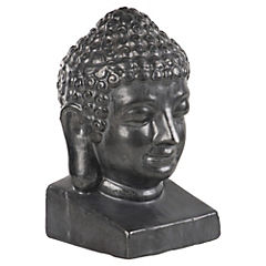 Buda decorativo 18x19x31 cm grafito