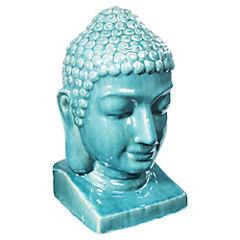 Buda decorativo 23x24x40 cm Turquesa