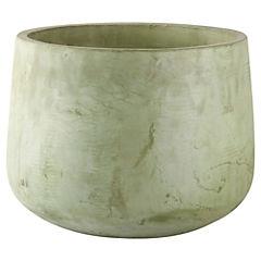 Macetero de cerámica 37x28 cm Verde