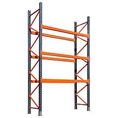 Estante Heavy Duty 400x220x80 cm 3 niveles/ resistencia 3000 kg