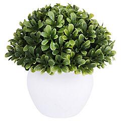 Planta artificial 13x13x13 cm con macetero