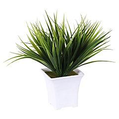 Planta artificial 20x8x20 cm con macetero