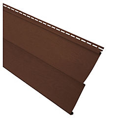 0,20x3,80 m Revestimiento Vynil siding Folio Roble oscuro