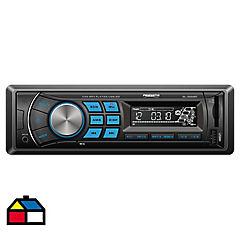 Radio para auto Bluetooth USB 5cmx10cmx17cm Negro