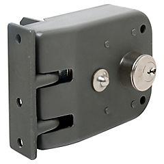 Cerradura corredera izquierda gris