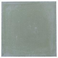 Baldosa lisa 21x21 cm 0,48 m2 verde