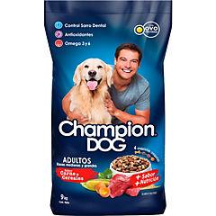 Alimento seco para perro adulto 9 kg carne y cereal