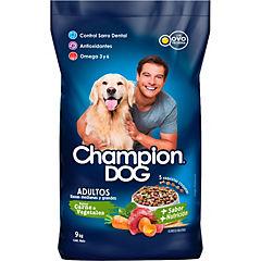 Alimento seco para perro adulto 9 kg pollo y vegetales