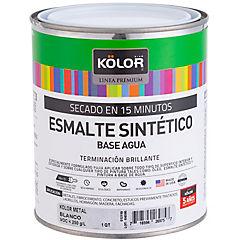 Esmalte Metales Brillante 15 minutos 1/4 galón Blanco