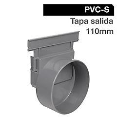 Tapa salida PVC 12,8x11,5x11,5 cm