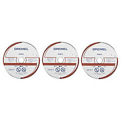 Set de discos de corte para piedra 3 unidades