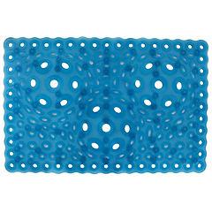 Antideslizante para baño PVC Celeste