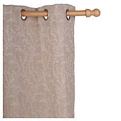 Set de cortinas Ramas 135x230 cm 2 paños natural