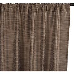 Set de cortinas texturadas 140x230 cm 2 paños café