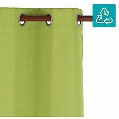 Cortina Black Out texturada 140x220 cm verde