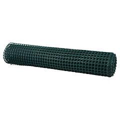 Malla jardín 25x25mm Verde 1x10m