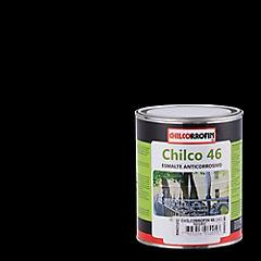 Esmalte anticorrosivo satinado 1/4 gl Negro