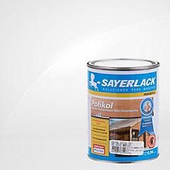 Barniz poliuretano mate 1/4 gl Ultra transparente