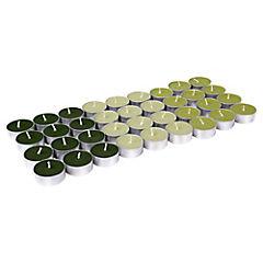 Set de velas tealight 36 unidades