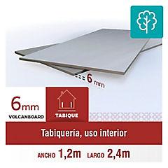 6 mm 120 x240 cm Placa lisa de Volcanboard
