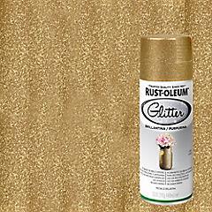 Pintura en spray brillantina 340 ml Oro