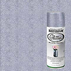 Pintura en spray brillantina 340 ml Plata