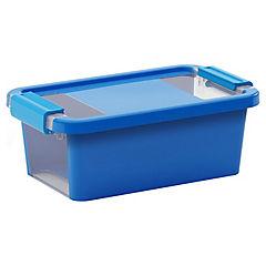 Caja organizadora 3 litros 16x26,5x10 cm azul