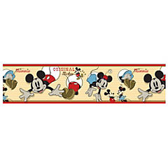 Guarda mural Mickey Mouse 0,17x5 m