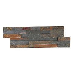 Piedra Mosaico 50x18 cm multicolor de  0,9 m2