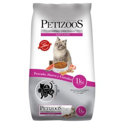Alimento seco para gato adulto 1 kg pescado y cereales - Sodimac.com