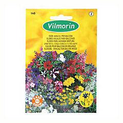 Semilla mezcla flores balcón 5 gr sachet