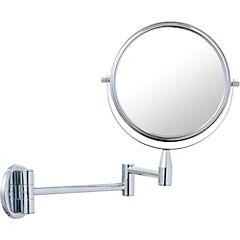 Espejo cosmético extensible 17 cm Cromado