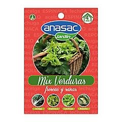 Mix semillas de verduras 2 gr sachet