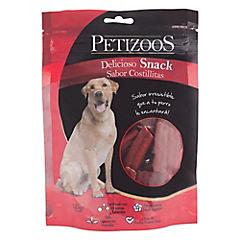Snack para perro adulto 125 gr costillas