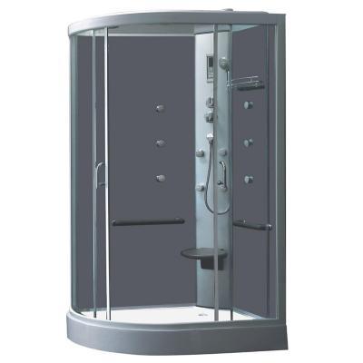Cabina de ducha 80x120x218 cm sensi dacqua 2615398 for Instalacion cabina ducha