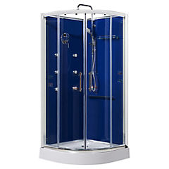 Cabina de ducha 218x90x90 cm sensi dacqua 2615401 - Cabina de duchas ...