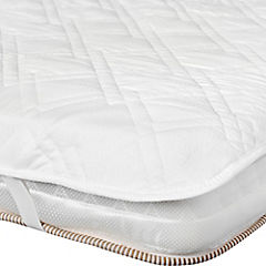 Protector para colchón 1 plaza blanco