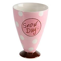 Copa para helado 15,2x10,3 cm rosado