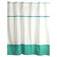 Cortina de baño Jardín de amor textil 180x180 cm