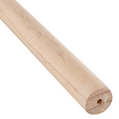 Barra cortina madera 28 mm 2,5 m beige