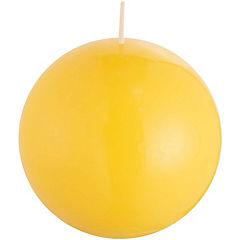 Vela decorativa 12 cm amarillo