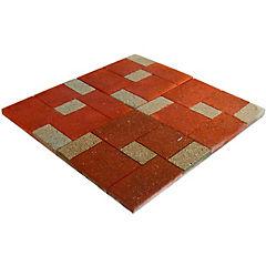 Pastelón Parquet rojo 50 x 50 cm