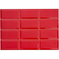 Cerámica 31x45 cm 1,4 m2 Rojo