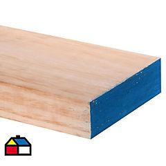 2x6'' x 4.8m. Viga estructural de pino