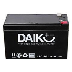 Batería para automóvil 7,2 A 12 V Lateral