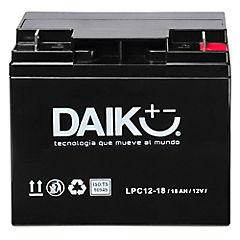 Batería para automóvil 18 A 12 V Frontal