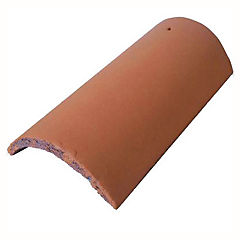 460 x 217 mm Cumbrera Colonial Rojo Arcilla